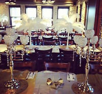Stunning centerpieces available for rent