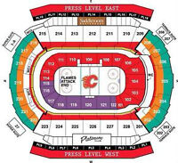 Flames vs Anaheim Ducks Game 3 - Centre ice @ Face value