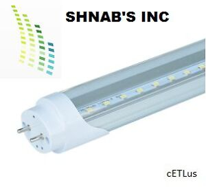 LED T8 18w 4ft tube bulb cETL certified Kitchener / Waterloo Kitchener Area image 1