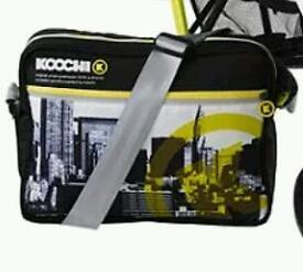 WANTED koochi changing bag brooklyn am yellow/black/white