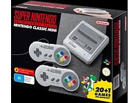 SNES mini Nintendo console NEW