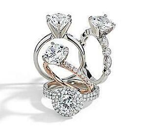 THE BEST DEALS IN THE CITY ON DIAMOND ENGAGEMENT RINGS NOW 50% PLUS OFF!!!!!!!!!!!!