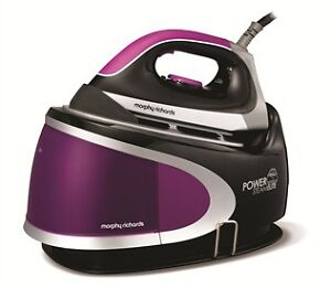 Morphy Richards 42223 Power Steam Elite Pressurised Steam Generator in Purple