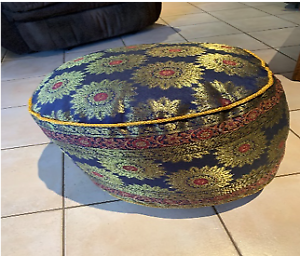 Footstool / Cushion  - decorative and functional