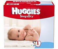 Couches Huggies Snug & Dry no.1