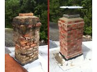 Roofer in Manchester. Chimney stack repair .
