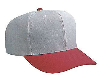 Cotton Twill Five Panel Pro Style Caps Two Tone Pro Style Cotton Twill Cap