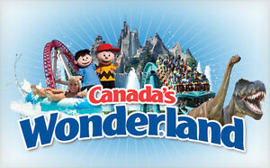 2 Adult Canada Wonderland tickets