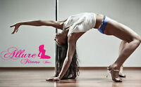 LEARN TO POLE DANCE @ ALLURE FITNESS INC.!