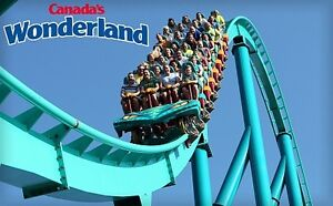 2 Canada's Wonderland Tickets!