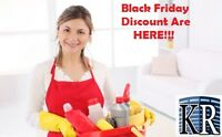 Residential Cleaning--Black Friday Deals!!!! 1 Week ONLY!