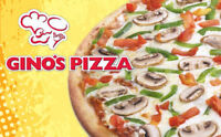 Gino's Pizza Ancaster now Hiring Experienced Pizza Makers