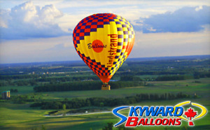 Certificate for 2 for a Hot Air Balloon ride ($65 Savings)