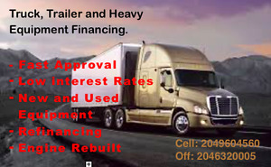 Refinance your equipment for IMMEDIATE FUNDS!!