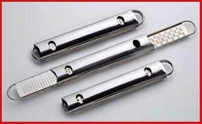 NASCONDINO astuccio contenitore grattugie acciaio inox 4 funzioni