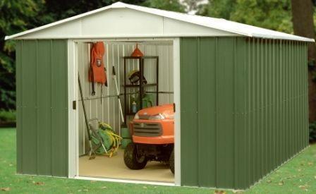 10x10 shed ebay - Abri jardin metal yardmaster bordeaux ...