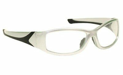 Laser Safety Eyewear - Co2excimer Filter In Silver Plastic Wrap Frame Style.
