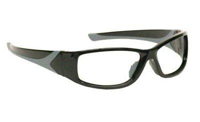 Laser Safety Eyewear - Co2excimer Filter In Black Plastic Wrap-around Frame