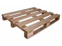 Free To Collector - 5 Wooden Pallets