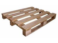 Free to Collector - 7 clean, dry, used wooden pallets