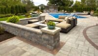 Interlocking Stone , Pavers , Retaining Walls