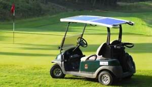 Increase The Range On Your Electric Golf Carts With Solar Power