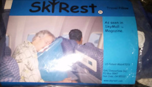 sky rest head pillow for travelling inflatable