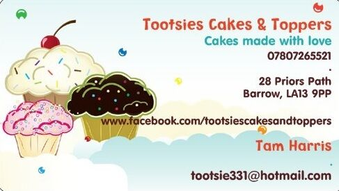 Tootsies Cakes and Toppers