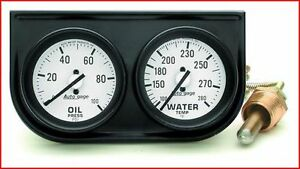 Gauge Oil Pressure/ Water Temperature; Autogage