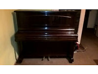 Free to a good home - upright piano, second-hand, good quality