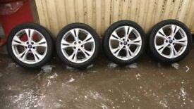 """FORD MONDEO MK4 (2007-2015) 17"""" 5 SPOKE ALLOY WHEELS x 4 - SUITABLE FOR ANY FORD MONDEO MK4 2007-15"""