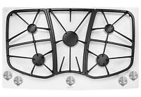 """BRAND NEW JENN-AIR 36"""" GAS COOKTOP-5 BURNERS -FROST WHITE"""