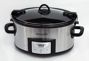 Crock Pot Cook and Carry Large Slow Cooker