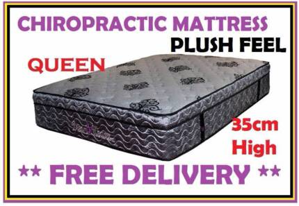 BRAND NEW Plush QUEEN Size Bed Pillow Top Mattress DELIVERED