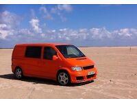 Tangerine Dream Machine! Mercedes Vito Campervan