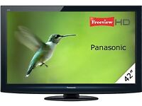 42 INCH PANASONIC INTERNET FULL HD TV WITH BUILT IN FREEVIEW ##DELIVERY IS POSSIBLE##