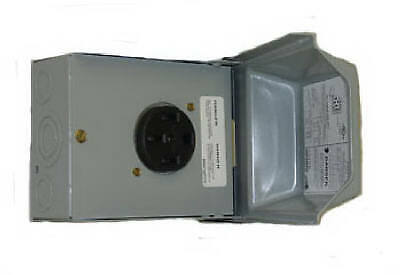Midwest Electric 50a 120240v Outdoor Raintite Receptacle Enclosure