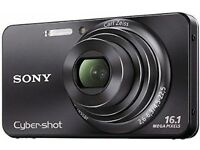 Sony DSCW570 Cyber-shot Digital Still Camera - Black (16.1MP, 5x Optical Zoom) 2.7 inch LCD