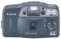 CANON SURE SHOT OWL DATE 35mm CAMERA. LIKE NEW!!!