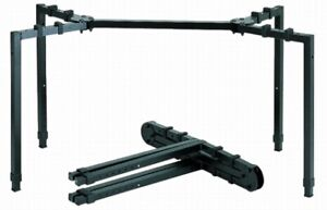 KEYBOARD STAND - APEX/QUIK LOK - 4 LEG, HEAVY DUTY, COLLAPSABLE.