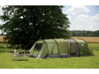 Coleman Galileo 5 tent and extention.