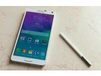 Unlocked Samsung galaxy note 4 for sale