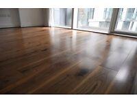 Engineered Wood Flooring (Wallnut) 18msq £450
