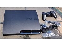 Sony PlayStation 3 (PS3) Slim Version + Controller + 3 Good Games