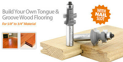 Best Tongue Groove Router Bit Set For Making Your Own Flooring