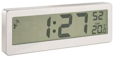 Design Kompakte Funkuhr mit riesigem XXL-LCD-Display und Temperatur-Anzeige