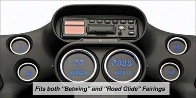 04-11 Harley Touring Blue Digital Speedometer Tachometer Gauges Gauge Kit 48065