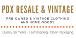 PDX Resale And Vintage