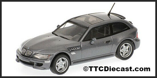 MINICHAMPS 400 029064 - BMW M Coupe - 2002 Grey Metallic