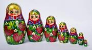 Russian Wood Doll